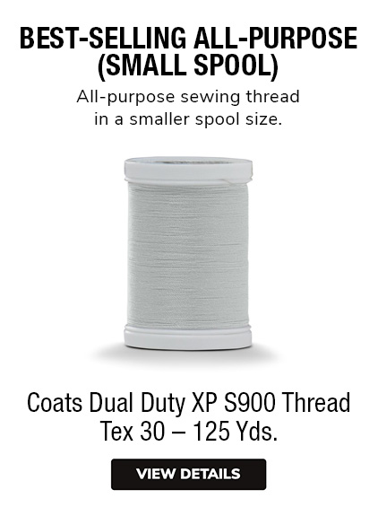 Coats Dual Duty XP S900 Thread Small Spools 125 Yards All-Purpose Sewing Thread