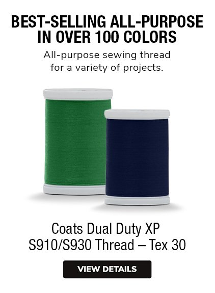 Coats Dual Duty XP S910 S930 Thread Spools all-purpose thread in over 100 colors