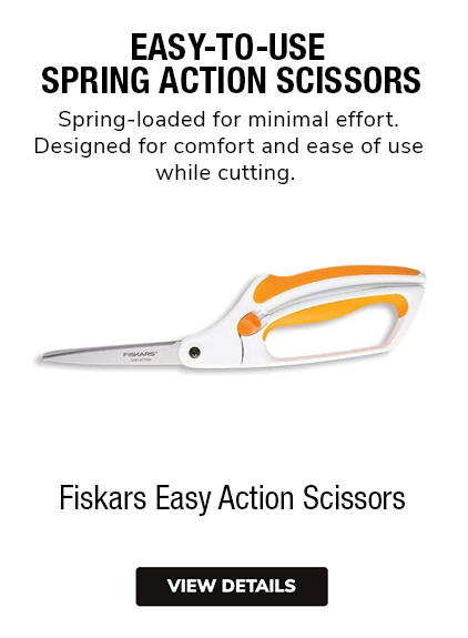 Fiskars Easy-Action Scissors | Fiskars Easy-Action Shears | Fiskars Easy-Action Trimmers