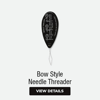 Needle Threaders | Bow Style Needle Threaders | Needle Threaders With Thread Cutters