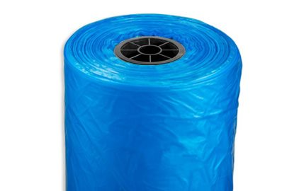 Plastic Unperforated, Nonperforated Continuous Poly Plastic Roll Bags