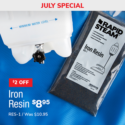 $2 Off Iron Resin