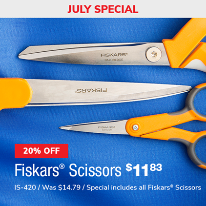 20% Off Fiskars Scissors