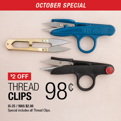 $2 Off Thread Clips